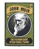 John Muir Serigraph by  Print Mafia