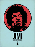 Jimi 2 Plastic Sign by Aron Stein