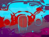 Jaguar Front End Signes en plastique rigide par  NaxArt