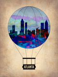 Atlanta Air Balloon Plastic Sign by  NaxArt