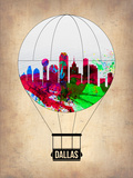Dallas Air Balloon Plastic Sign by  NaxArt