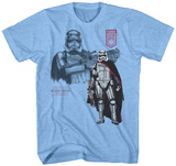 Star Wars The Force Awakens- Leader of the Troops T-shirts