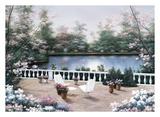Terrace View Prints by Diane Romanello