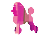 French Poodle Plastic Sign by  NaxArt