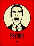 Psycho 1 Plastikskilte af Aron Stein