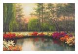 Autumn Sunset Prints by Diane Romanello