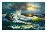 Ocean Waves Prints by Diane Romanello