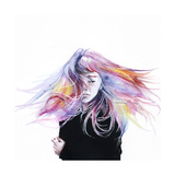 Little Girl Posters por Agnes Cecile