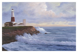 Montauk Lighthouse Posters by Diane Romanello
