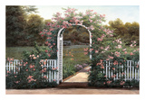 Rose Trellis Prints by Diane Romanello