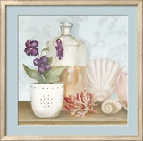 Bath Essentials III Prints by Julia Hawkins
