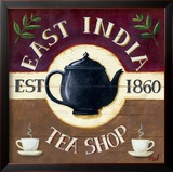 East India Tea Shop Print by Mid Gordon