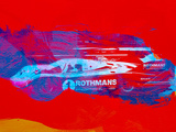 Porsche 917 Rothmans 4 Plastic Sign by  NaxArt