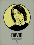 David 4 Plastic Sign by Aron Stein