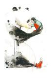 Panda Girl Poster by Lora Zombie