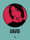 David 3 Plastic Sign by Aron Stein