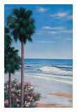 Calm Tropics Posters by Diane Romanello
