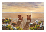 Evening Deck View Posters by Diane Romanello