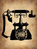 Vintage Phone 3 Placa de plástico por  NaxArt