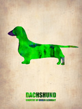 Dachshund Poster 1 Plastic Sign by  NaxArt