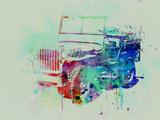 Jeep Willis Znaki plastikowe autor NaxArt