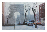 Washington Square Poster by Diane Romanello