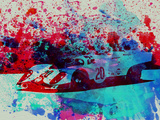 Porsche 917 Gulf Plastic Sign by  NaxArt