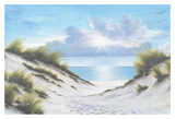 Sand and Sea Print by Diane Romanello