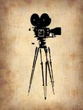 Vintage Film Camera Plastic Sign by  NaxArt