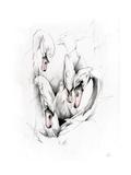 Swans Prints by Alexis Marcou