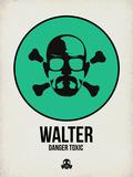 Walter 1 Signes en plastique rigide par Aron Stein
