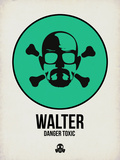 Walter 1 Plastic Sign by Aron Stein