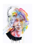Girls Change Colors Pósters por Agnes Cecile