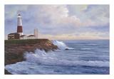 Le phare de Montauk Art par Diane Romanello