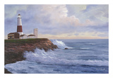 Montauk Lighthouse Art by Diane Romanello