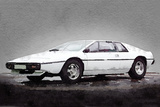1976 Lotus Esprit Coupe Plastic Sign by  NaxArt