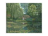 Giverny Reflections Prints by Richard Harpum