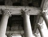 Architechtural Pantheon Columns Giclee Print by  Graffi*tee Studios