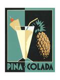 Pina Colada Premium giclée print van Brian James