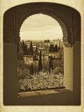 Alhambra Vista Giclee Print by  Graffi*tee Studios