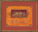 Pinot Vineyard Prints by Angela Staehling