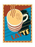 Latte Prints by Brian James