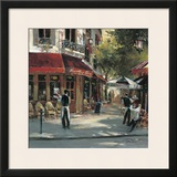 Bistro Waiters Poster by Brent Heighton