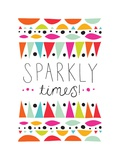 Sparkly Times Print by Susan Claire