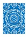 Love Blue Prints by Susan Claire