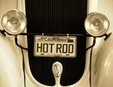 Cali Hot Rod Giclee Print by  Graffi*tee Studios
