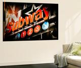 Subway and City Art - Subway Sign Wall Mural by Philippe Hugonnard