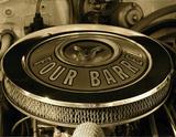 Four Barrel Giclee Print by  Graffi*tee Studios