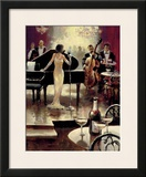Jazz Night Out Prints by Brent Heighton