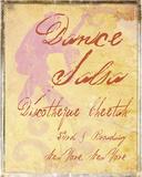 Dance Salsa Giclee Print by  Graffi*tee Studios